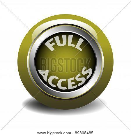 Full access web button