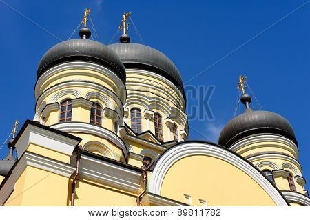 Christian Orthodox Church in the Hancu Monastery, Republic of Moldova