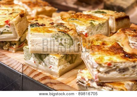 Spanish Vegetable Quiche