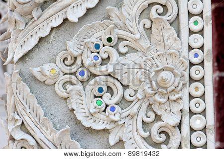 Stucco White Sculpture