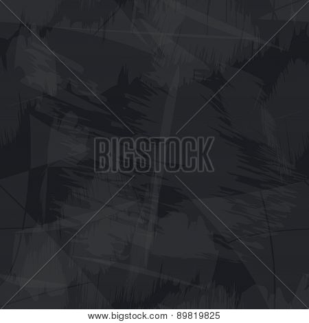 Black And Gray Grungy Paper Seamless Background Eps10