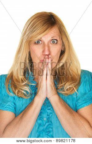 Wishful Woman In Suspense