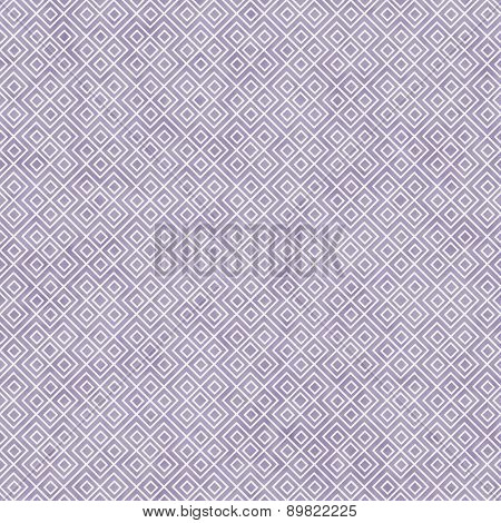 Purple And White Square Geometric Repeat Pattern Background