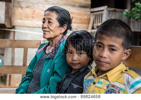 Portrait Of People From Tana Toraja