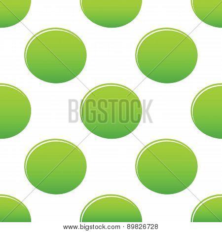 Green oval pattern