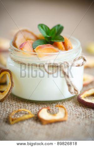 Home Sweet Yogurt With Dried Fruit
