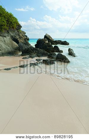 Horseshoe Bay Beach in Bermuda
