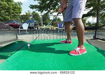 Driving Range Golf Practice