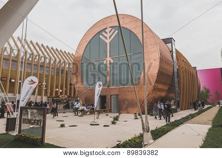 Hungary Pavilion At Expo 2015 In Milan, Italy