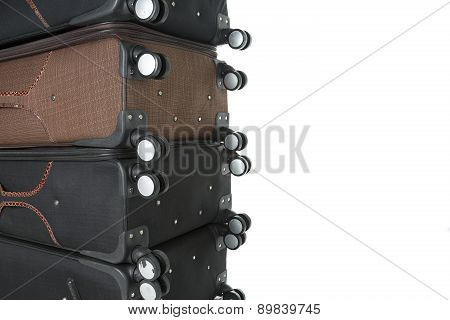 suitcases travel immigration