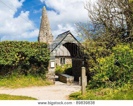 St Enodoc Church Trebetherick Cornwall