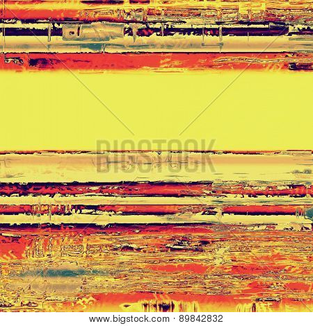 Old grunge antique texture. With different color patterns: yellow (beige); purple (violet); red (orange)