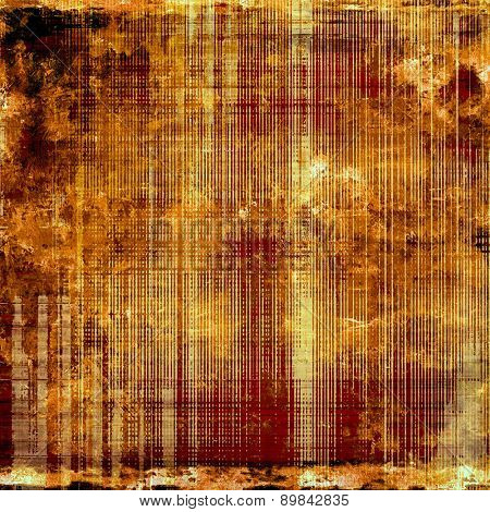 Old antique texture - perfect background with space for your text or image. With different color patterns: yellow (beige); brown; black; red (orange)