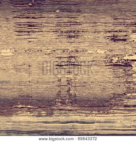 Old-style background, aging texture. With different color patterns: brown; gray; purple (violet)