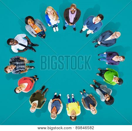 Diversity Group of Business People Community Team Concept