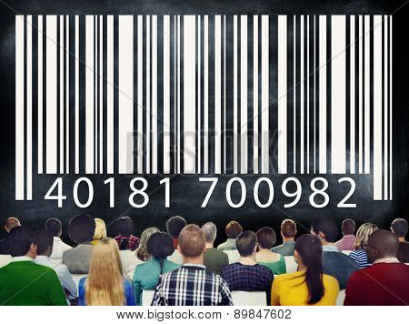 Barcode Product Buying Digital Purchasing Scanning Concept