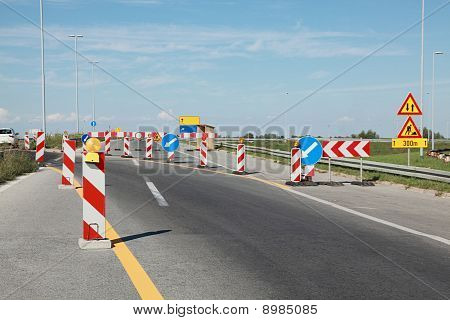 Highway In Reconstruction