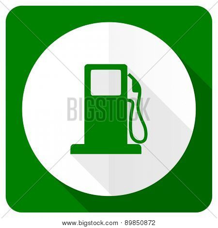petrol flat icon gas station sign