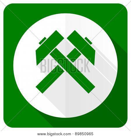 mining flat icon