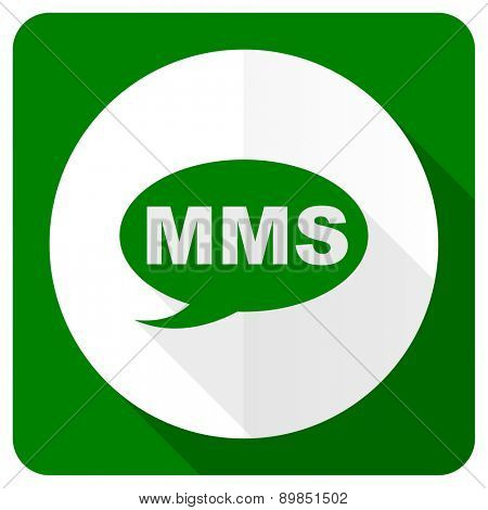 mms flat icon message sign