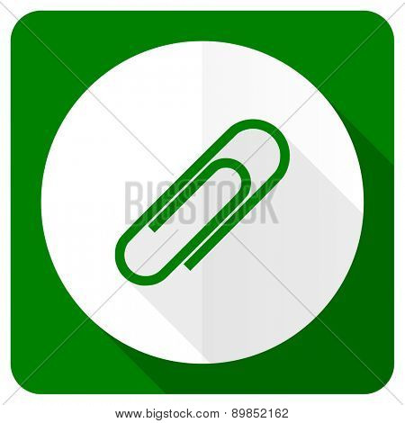 paperclip flat icon