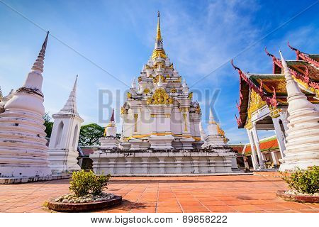 Wat Phra Borommathat Chaiya Worawihan, an ancient temple at Chaiya district,Surat Thani province, So