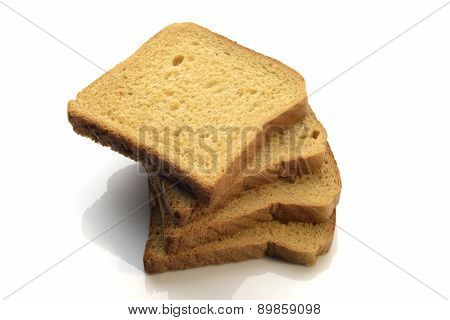 Whole Wheat Brown Bread Slices