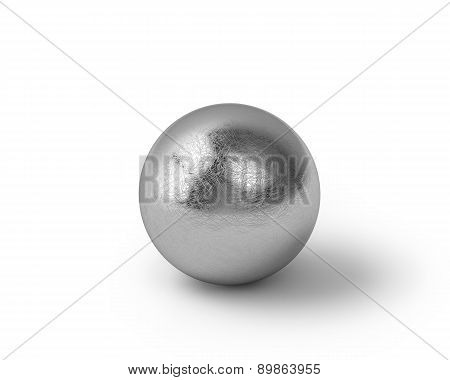 Scratched Metal Sphere