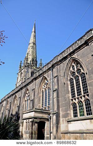 St Alkmunds church, Shrewsbury.