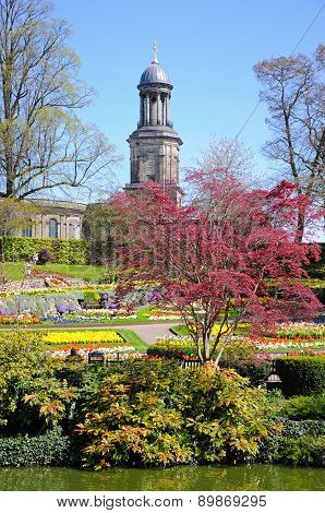 The Dingle Garden, Shrewsbury.