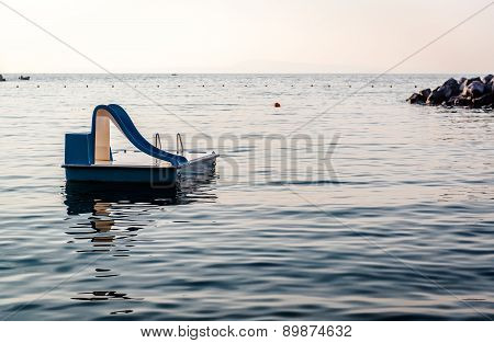 Water Slide In The Sea
