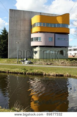 Wall house in Groningen
