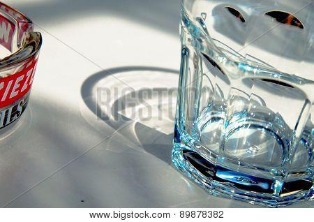Glass, Light And Ashtray