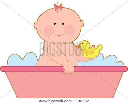 Bath Baby Girl