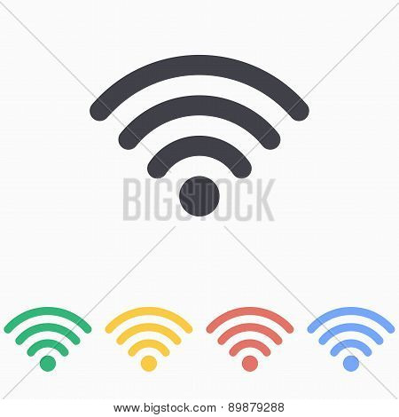Wi Fi - vector icon