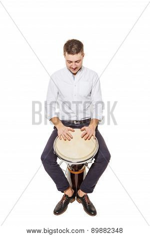 Djembe And The Guy