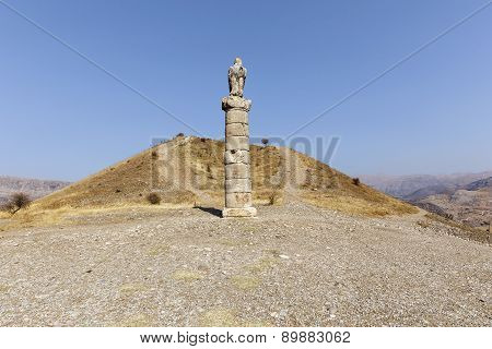 Women's Monument Tomb( Karakus Royal Tumulus), Turkey