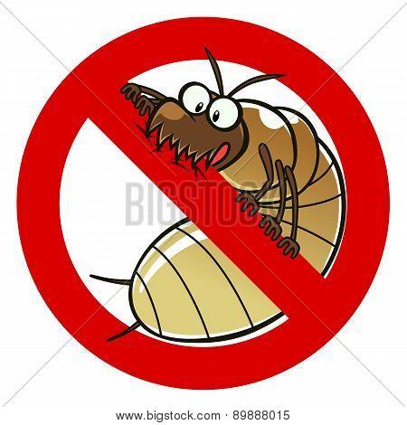 No Termites Sign