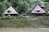 picture of ifugao  - Traditional houses and rice terrases in Batad near Banaue - JPG