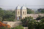foto of ethiopia  - Spires of Ethiopian Orthodox church in Dire Dawa - JPG