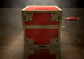 foto of jack-in-the-box  - An ornate antique closed jack - JPG