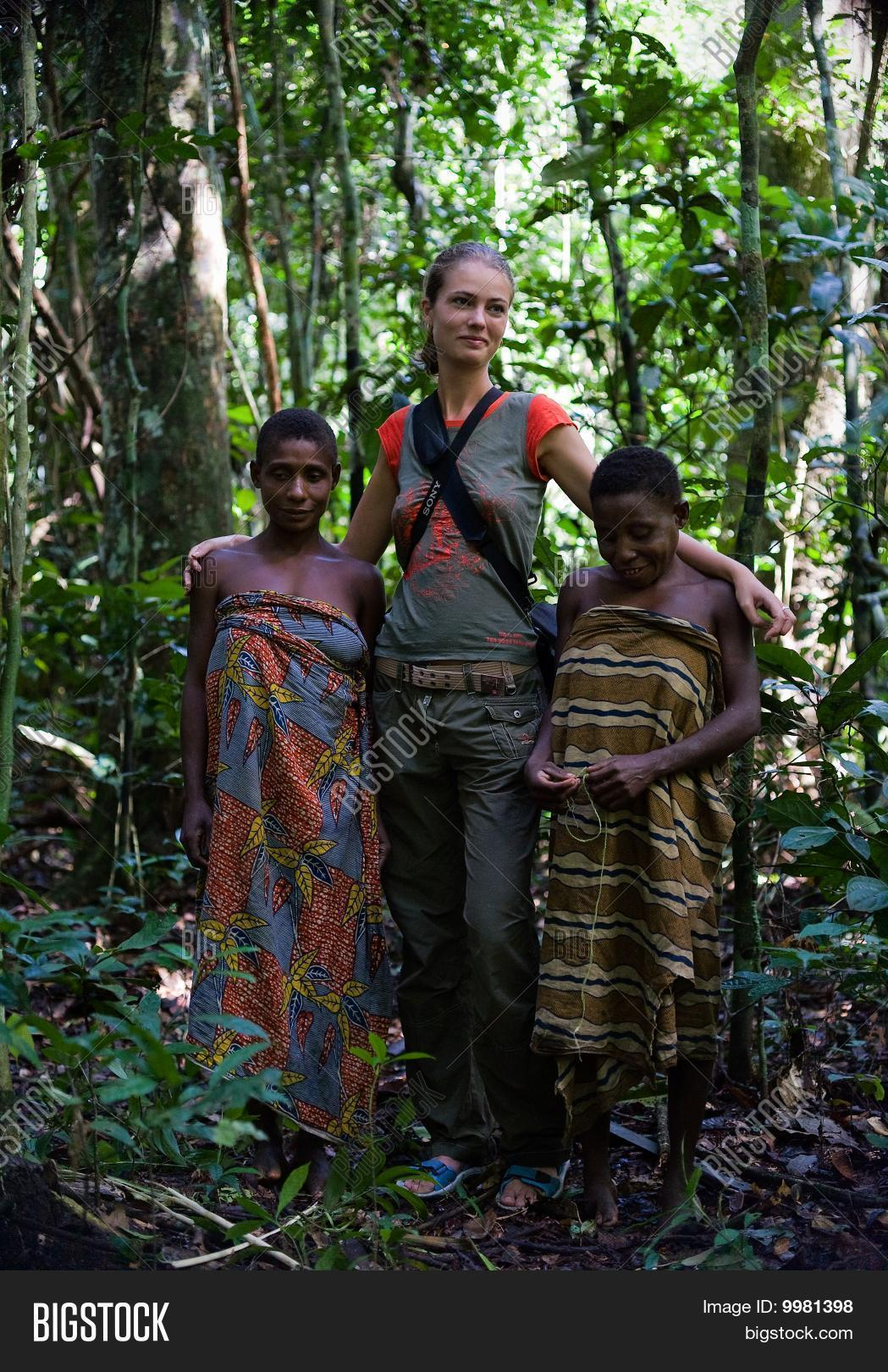 Jungle Tribe People Girls From Trib...