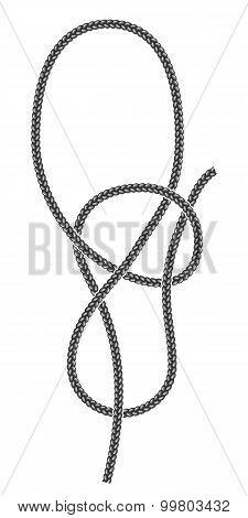 Underhand Bowline Knot