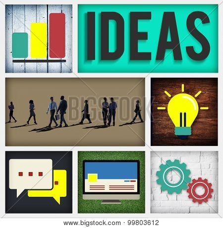 Ideas Innovation Intelligence Intellectual Wisdom Concept
