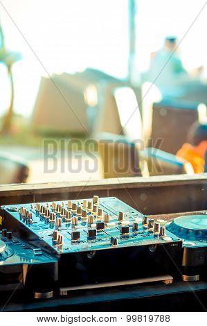 Sound Mixer Controller