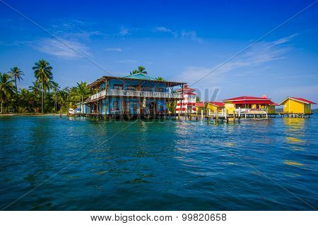Isla Colon, Panama - April 25, 2015 : Colon Island Is The Northernmost And Main Island In The Bocas