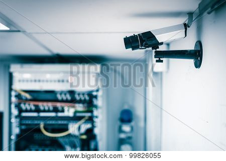 Server Farm Security Camera