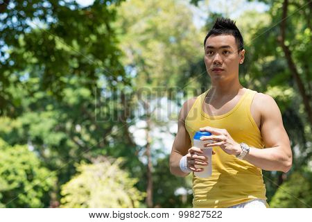 Sweaty Man