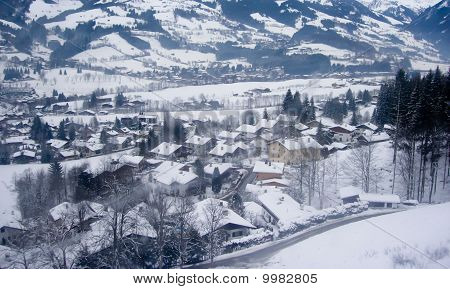 Kitzbuhel in winter