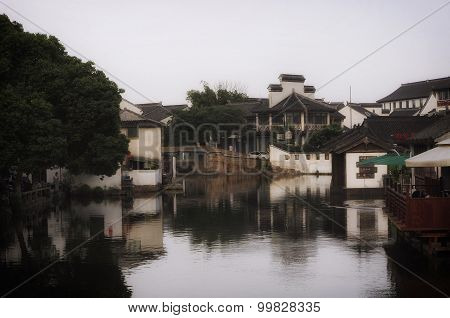 Buildings In Tongli Water Town